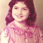 Monja Bianca com 10 anos de idade