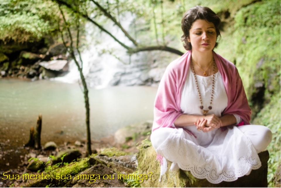 Meditando com Monja Bianca
