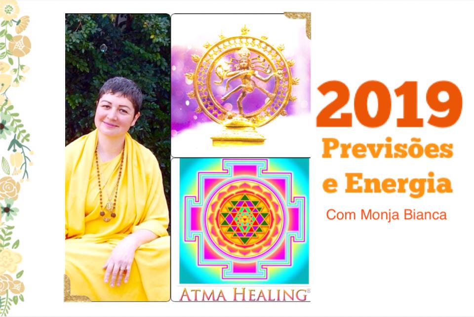 Previsões e energia 2019 com Monja Bianca Toffani